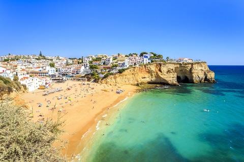 Strand i Carvoeiro, Algarve