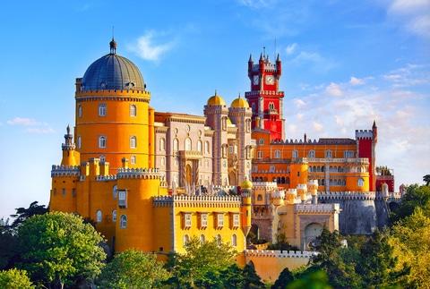 Rejser til Sintra, Portugal