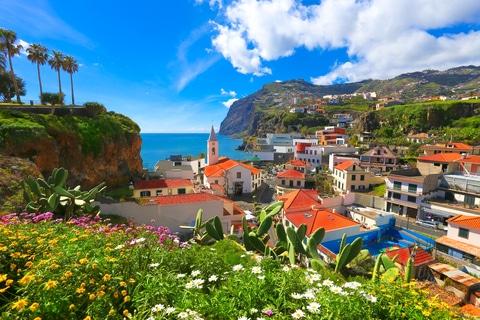 Camara de Lobos i Madeira, Portugal