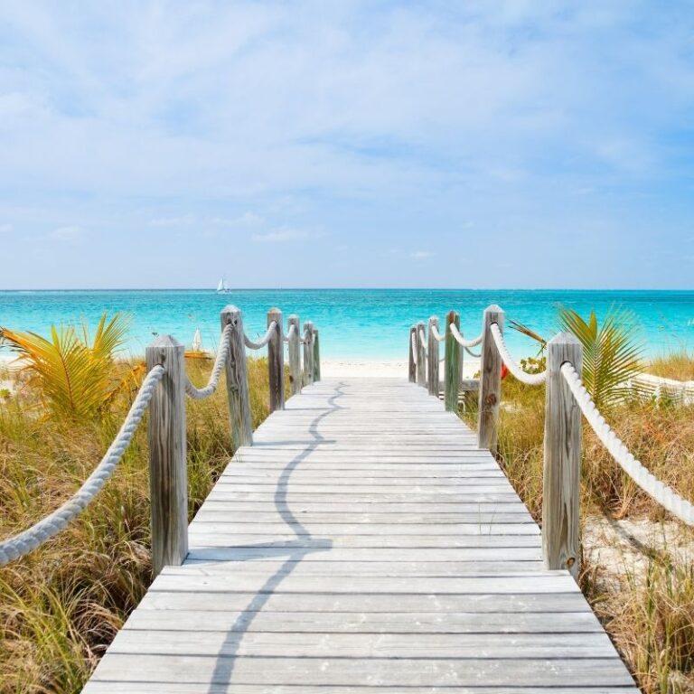 Bro på strand