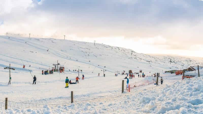 Vodafone skicenter i Serra da Estrela