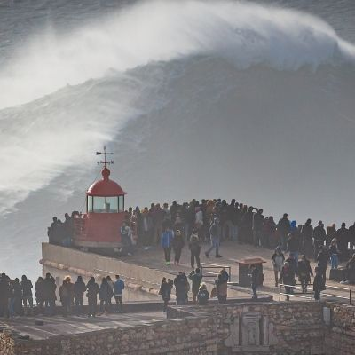 Bølger i Nazaré
