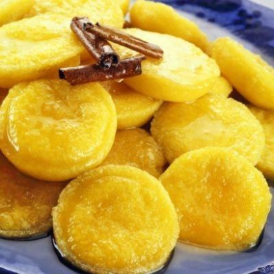 Papos de anjo: Portugisisk kage